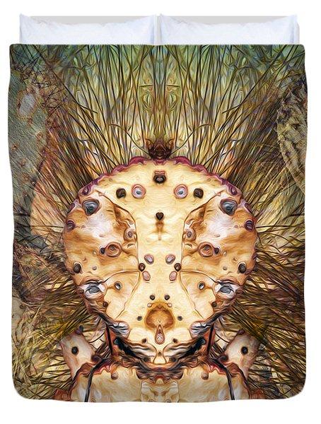 Hallucina-jim Duvet Cover