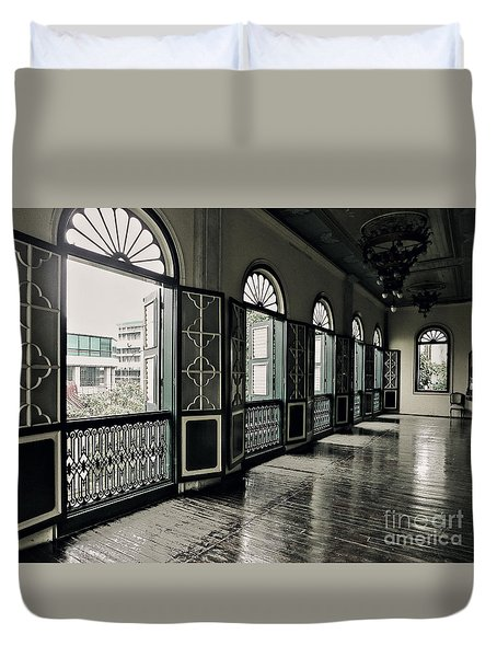 Hallway Duvet Cover by Charuhas Images