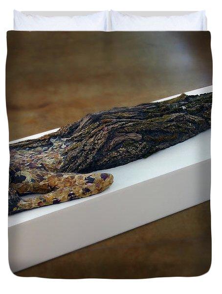 Hamadryad A Sculpture By Adam Long Duvet Cover by Adam Long