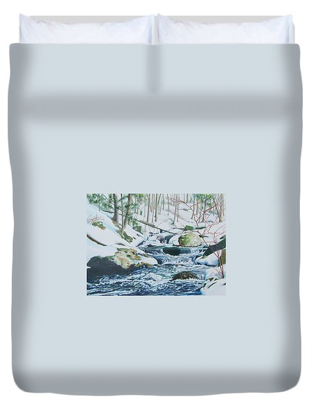 Hamburg Mountain Stream Duvet Cover