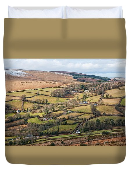 Hamel Down From Honeybag Tor Duvet Cover