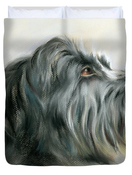 Hamish The Wolfhound Duvet Cover