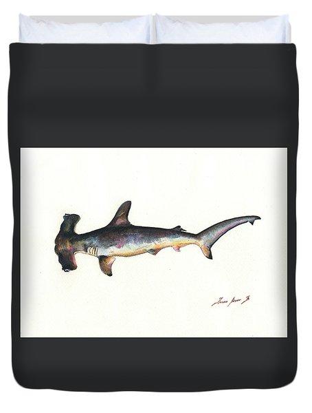 Hammerhead Shark Duvet Cover