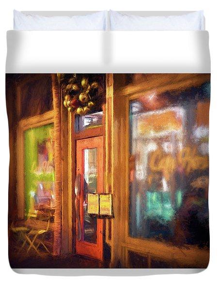 Hampden Cafe Duvet Cover