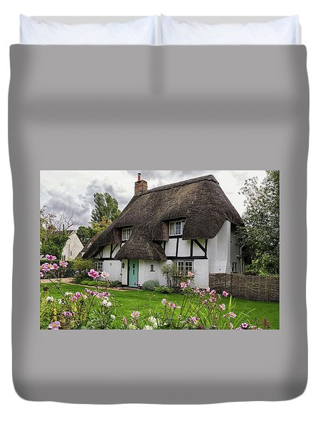 Hampshire Thatched Cottages 8 Duvet Cover
