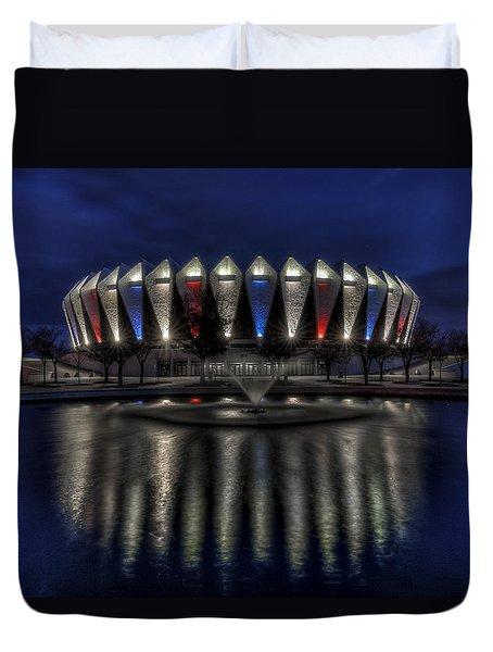 Hampton Coliseum Duvet Cover