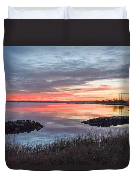 Hampton Sunrise Duvet Cover