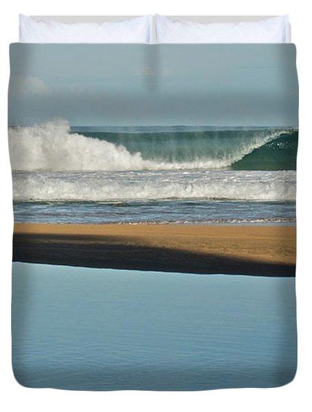 Hanakapiai Beach 1287b Duvet Cover