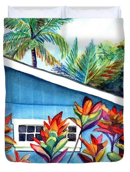Hanalei Cottage Duvet Cover