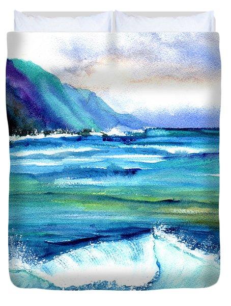 Hanalei Sea Duvet Cover