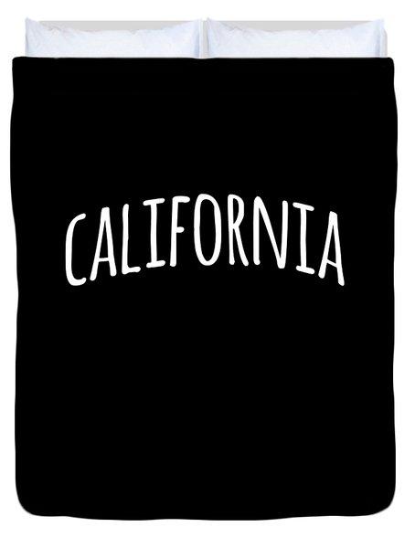 Hand California Duvet Cover