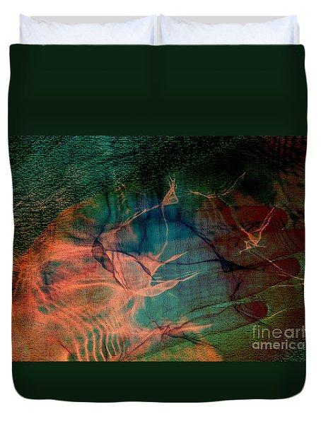 Hand Of A Healer - La Main Dun Guerisseur Duvet Cover