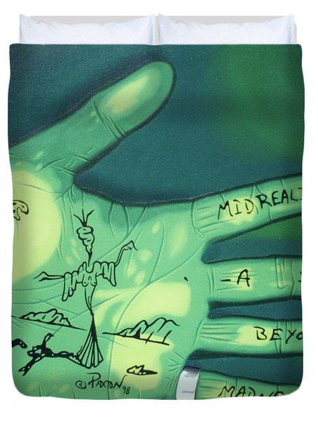 Hand Print Duvet Cover