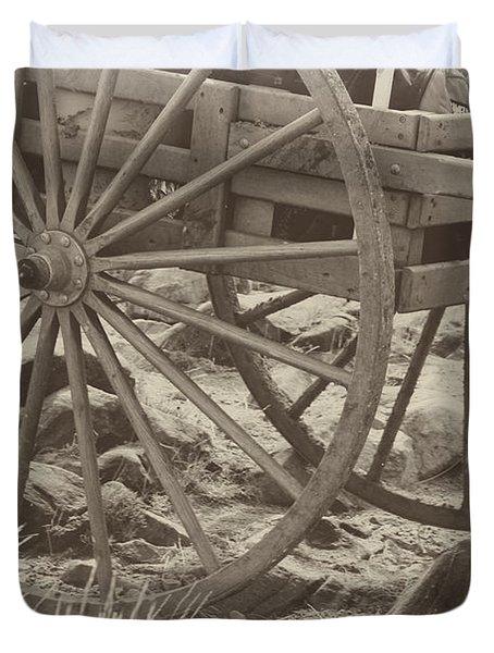 Handcart Duvet Cover
