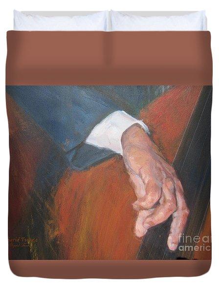 Blaa Kattproduksjoner          Hands Of Deep Sound Duvet Cover