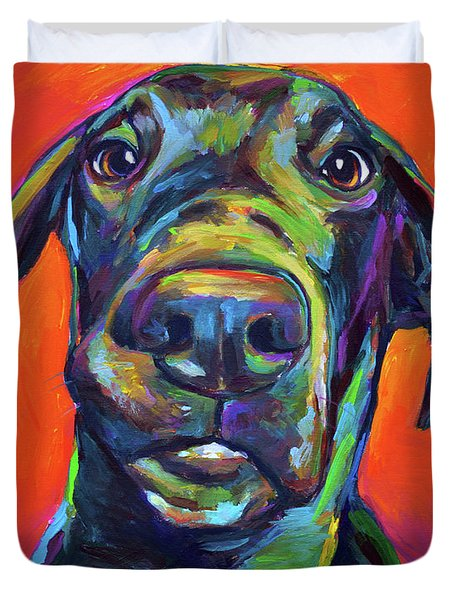Handsome Hank Duvet Cover