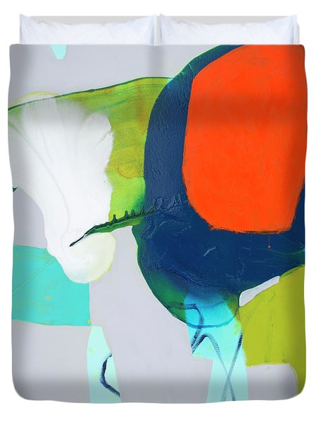 Hang In, Hang Out Duvet Cover