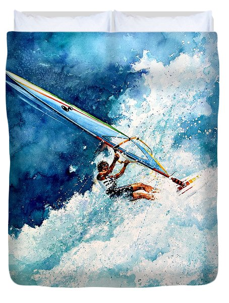 Hang Ten Duvet Cover by Hanne Lore Koehler
