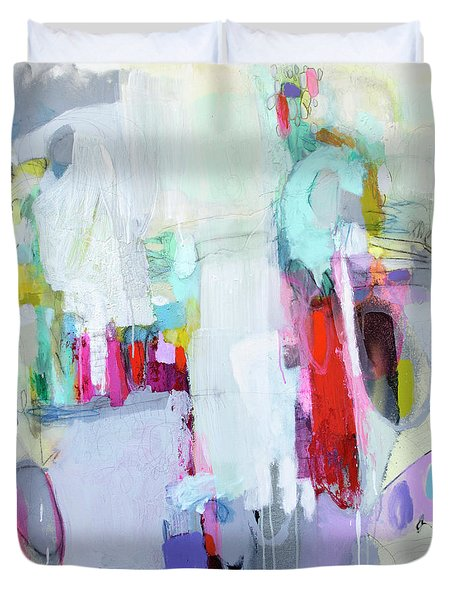 Hang Up And Call Again Duvet Cover