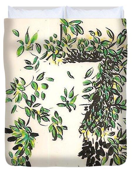 Hanger Duvet Cover by Al Goldfarb