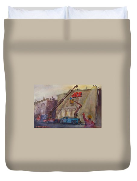 Hanging Ace #1 Duvet Cover