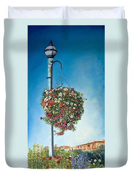 Hanging Basket Duvet Cover