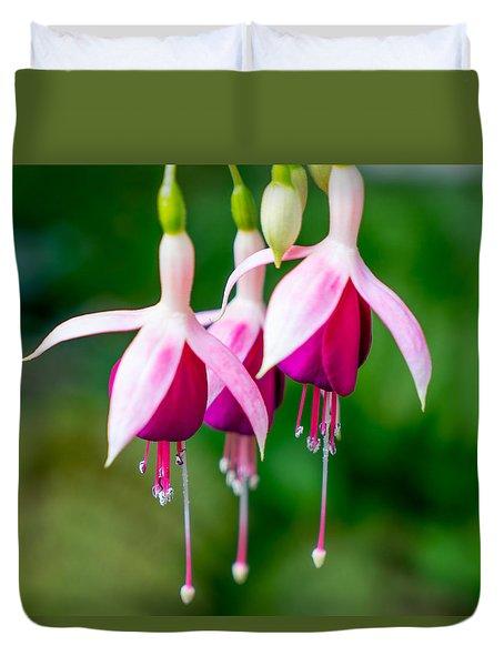Hanging Flowers  Duvet Cover