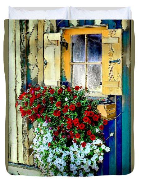 Hanging Gardens Duvet Cover