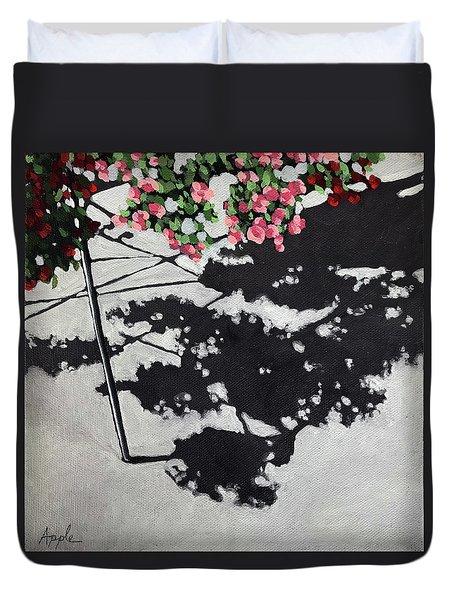 Hanging Shadows - Floral Duvet Cover