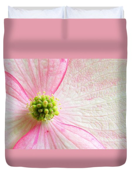 October Is Squish The Girls Month Duvet Cover