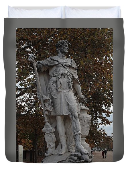 Hannibal Barca In Paris Duvet Cover