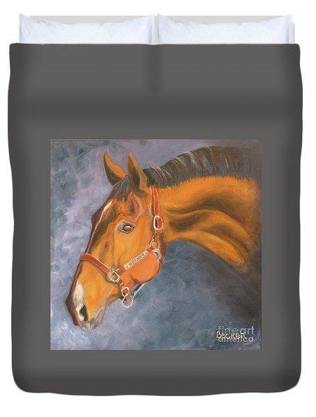 Hanoverian Warmblood Sport Horse Duvet Cover