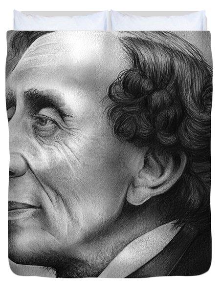 Hans Christian Andersen Duvet Cover