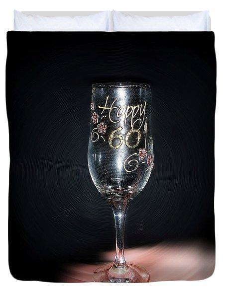 Happy 60th Birthday Duvet Cover