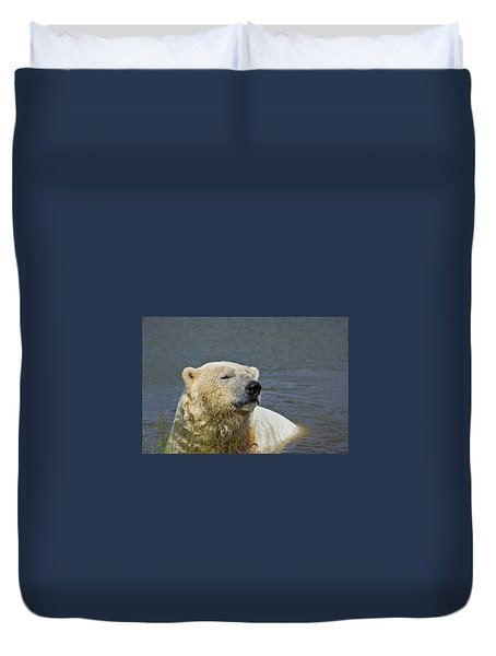 Happy Bear Duvet Cover