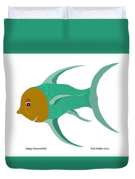 Happy Carnival Fish Duvet Cover