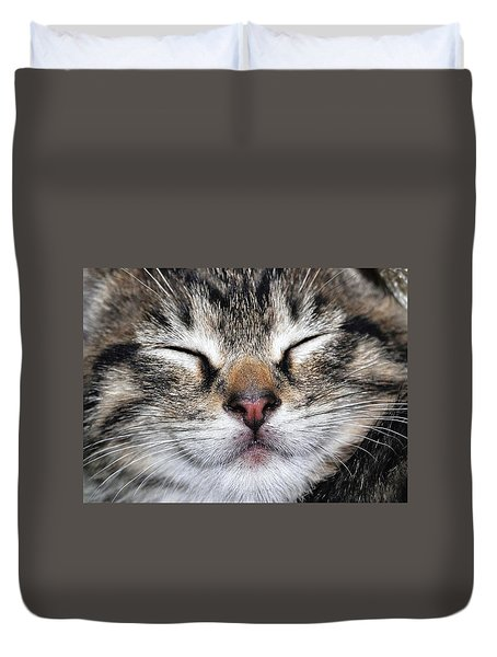 Happy Cat Duvet Cover