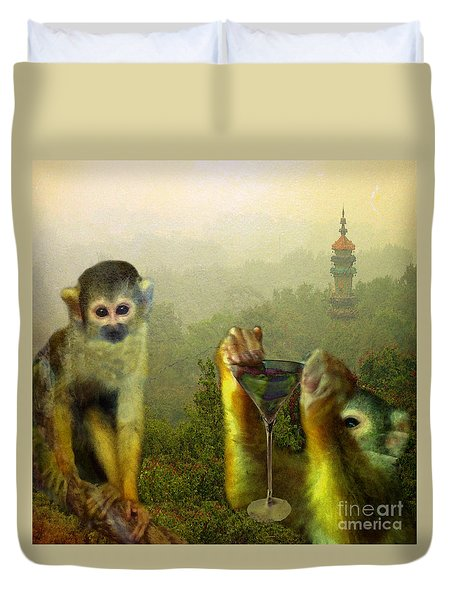 Duvet Cover featuring the photograph Happy Chinese New Year by LemonArt Photography