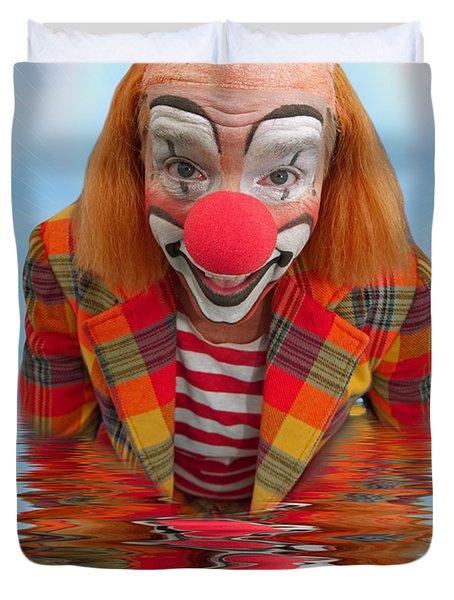 Happy Clown A173323 5x7 Duvet Cover