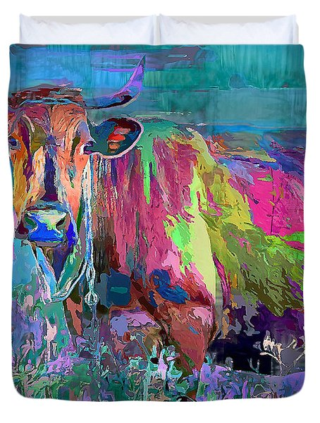 Happy Cow Duvet Cover