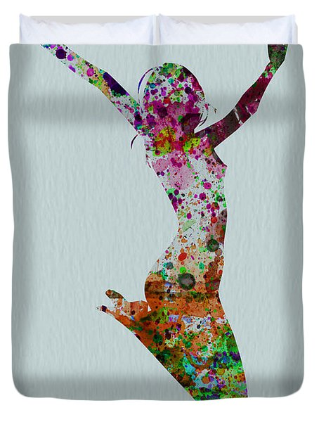Happy Dance Duvet Cover