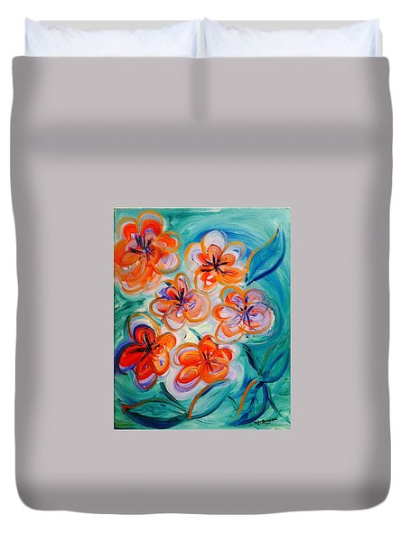 Happy Day Bright  Duvet Cover