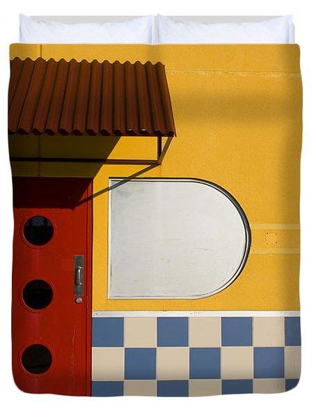 Happy Days Duvet Cover by Skip Hunt