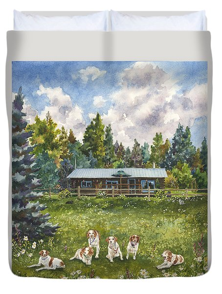 Happy Dogs Duvet Cover
