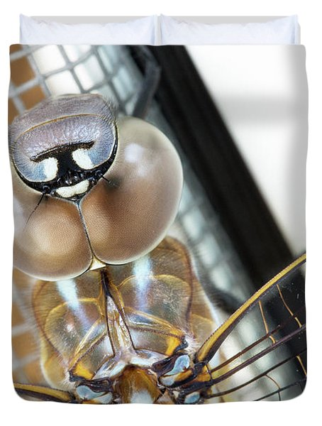 Happy Dragonfly Duvet Cover