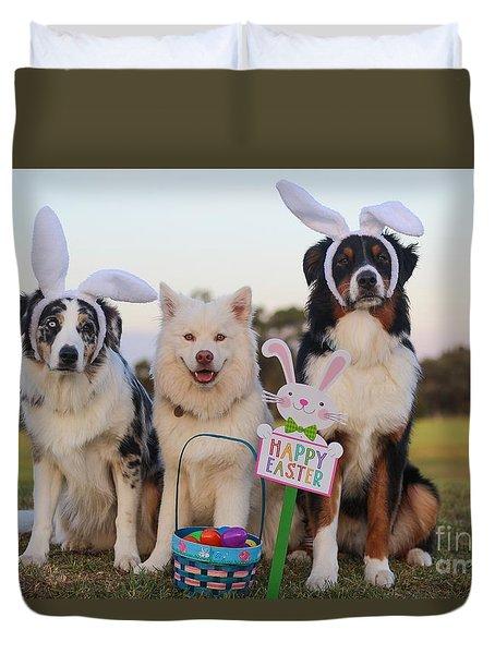 Happy Easter Duvet Cover