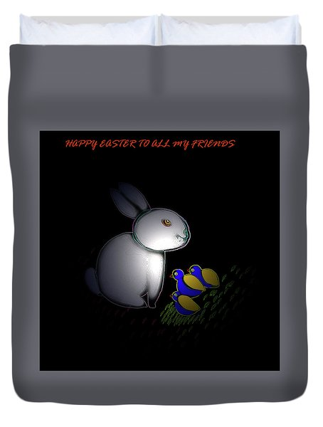 Happy Easter Duvet Cover