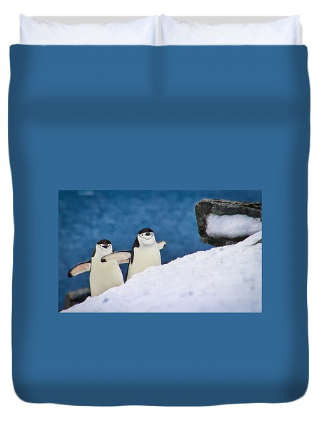 Happy Feet Duvet Cover