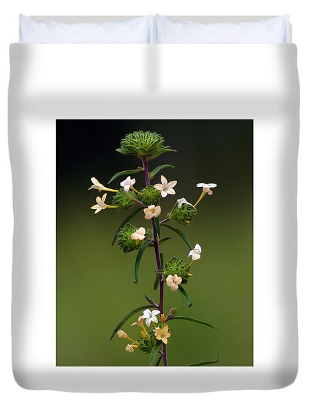Happy Flowers Duvet Cover
