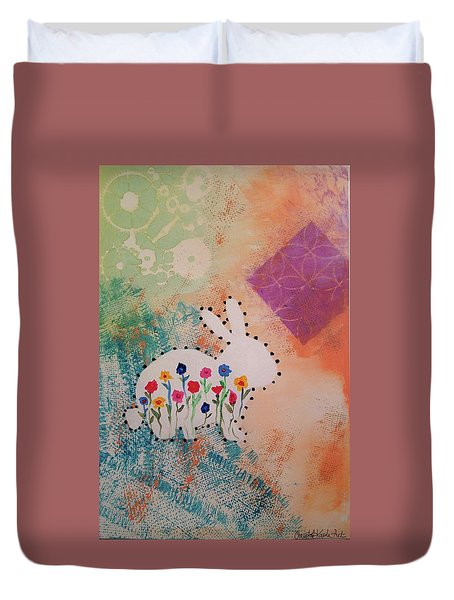 Happy Garden Duvet Cover
